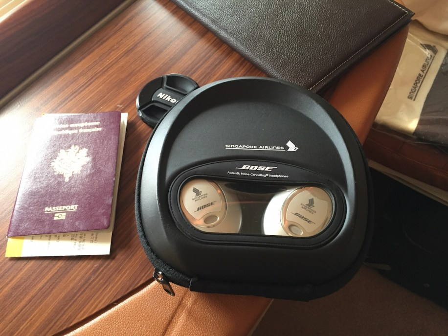 Singapore Airlines A380 Suites - Bose headphones only for Suites