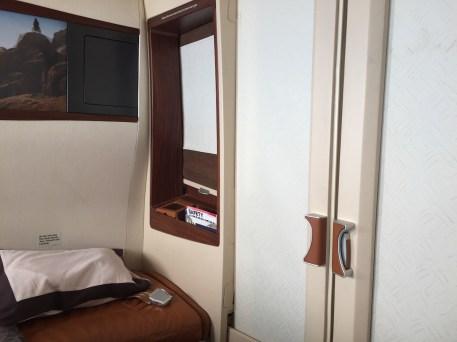 Singapore Airlines A380 Suites - Closed suite