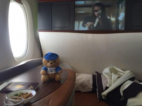 Singapore Airlines A380 Suites - Entertainment system