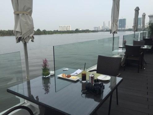Villa Song Saigon - Song Vie Bar river terrace