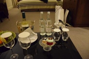Junior Suite - Welcome drinks