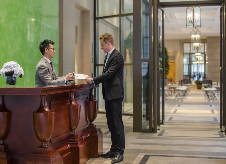 Concierge at ground floor