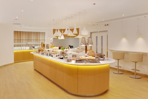 Skyteam lounge - Buffet