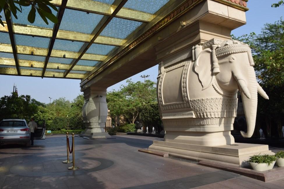 Leela Palace New Delhi - Entrance
