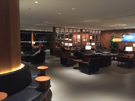 The Pier, Hong Kong - Lounge area