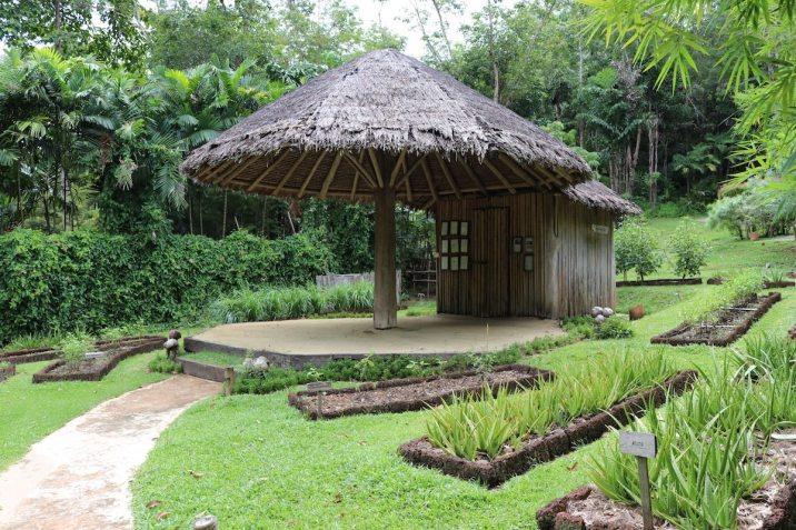 Mushroom hut