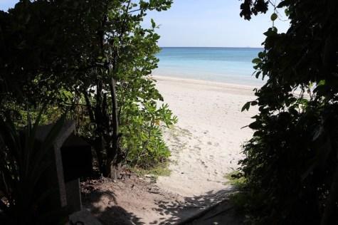 Beach Casita access to the beach