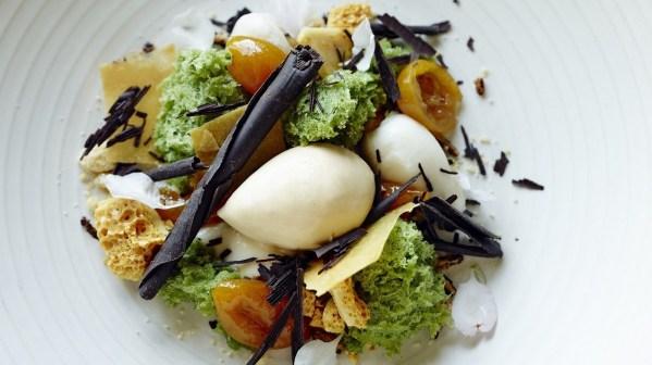 Lake house Daylesford - Restaurant dessert