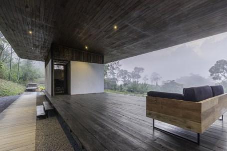 Santani indoor outdoor reception - Picture by resort