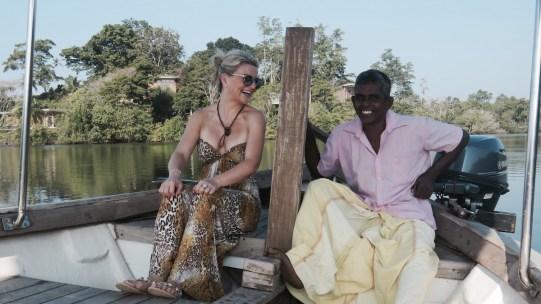 Boat ride to Cinnamon Island