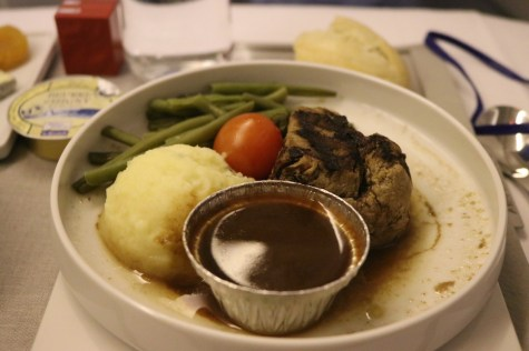 Dinner - Main dish (grilled beef)
