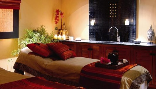 SenSpa treatment room - Picture by David Griffen