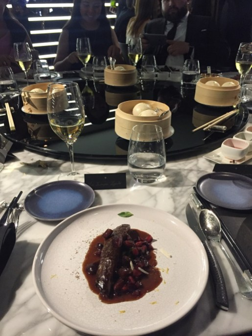 Alain Ducasse 8-course dinner - Third main course (duck)