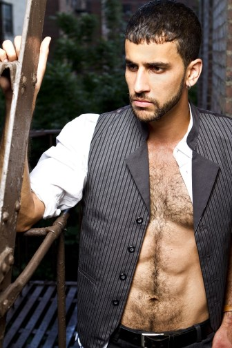 Naren Weiss shirtless by photographer Jorge Luna - Exclusive photoshoot for The Luxe Insider