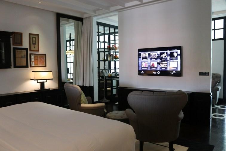Siam Suite bedroom - The Siam Hotel