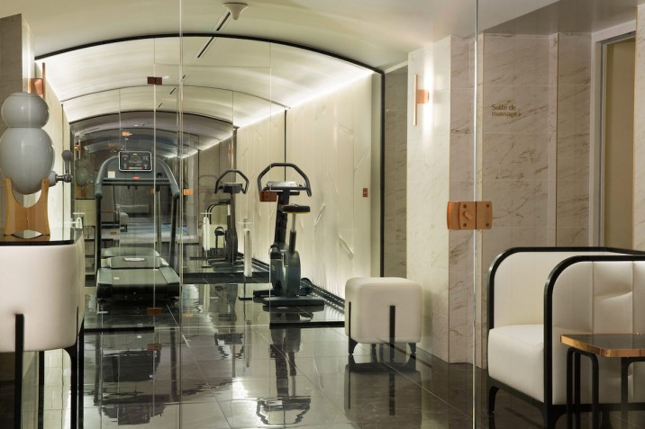 Le Narcisse Blanc - Fitness room