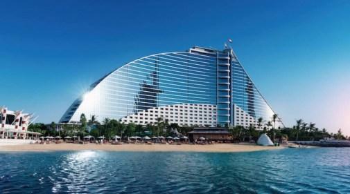 Jumeirah Beach Hotel main building