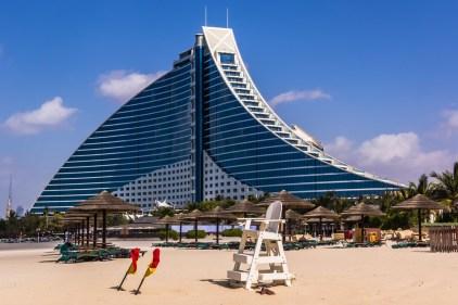 Jumeirah Beach Hotel - Credit Pawel Szczepanski