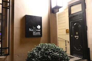 Le Narcisse Blanc - Facade