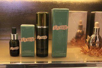 Spa de La Mer - Products used for Custom Facial treatment