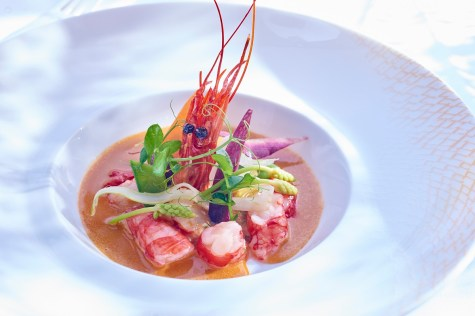 Gambas at Pur' - Picture by Hyatt