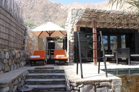 Pool villa - Outdoor patio
