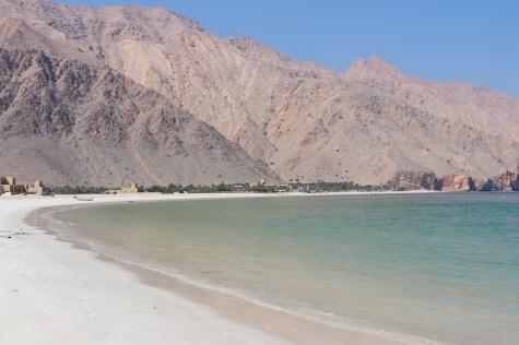 Zighy Bay beach