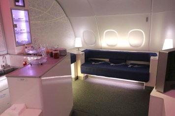 Prestige Class cabin - Relaxation area at the back