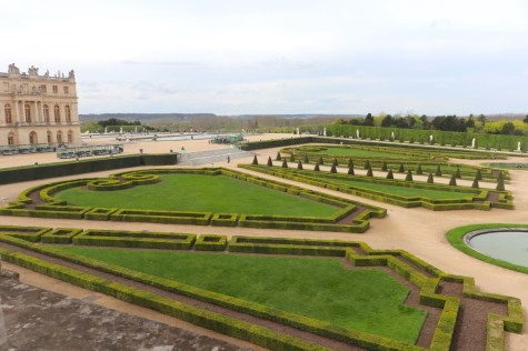 Gardens view from Mistresses' rooms