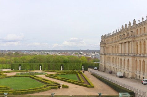 Gardens view from Hall of Mirrors