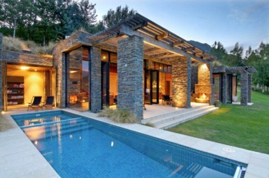 title | Modern Stone House
