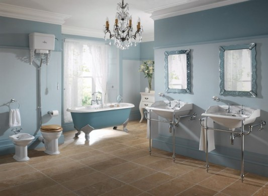 Traditional Bathroom Suites Luxurious Design  Victorian by BC     luxurious and elegant classical bathroom decorating ideas