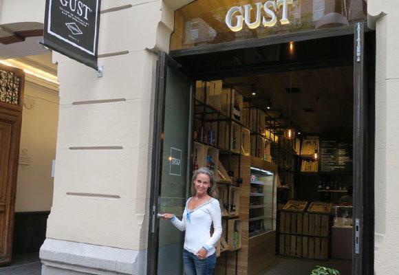 Carla Royo-Villanova en Gust, Madrid