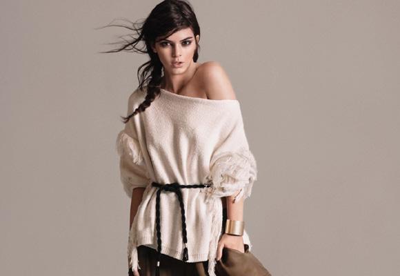 Kendall Jenner en la campaña P/V 2016 de Mango. Compra aquí la colección