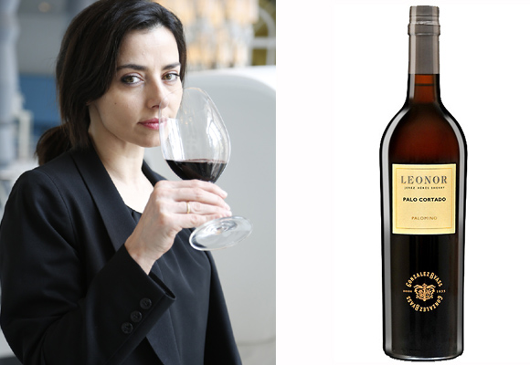 María José Huertas se queda con el vino de Jerez