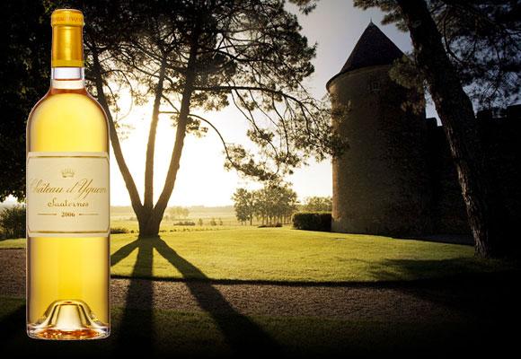 En Burdeos, en la región de Sauternes está Château d'Yquem