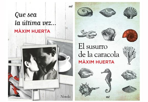 Hazte aquí con las novelas de Màxim Huerta