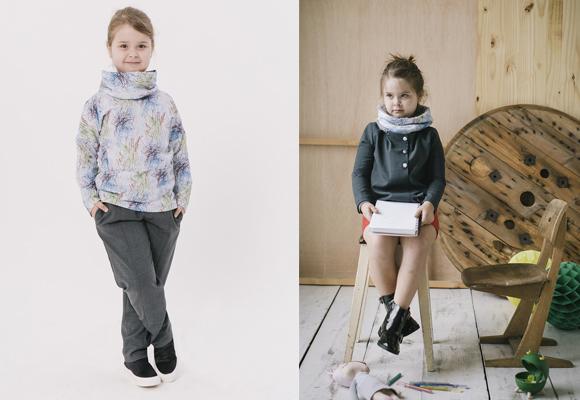 Los mismos dibujos se plasman en distintas prendas