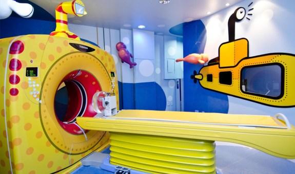 Hospitales decorados para niños