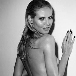 Heidi Klum sube la temperatura