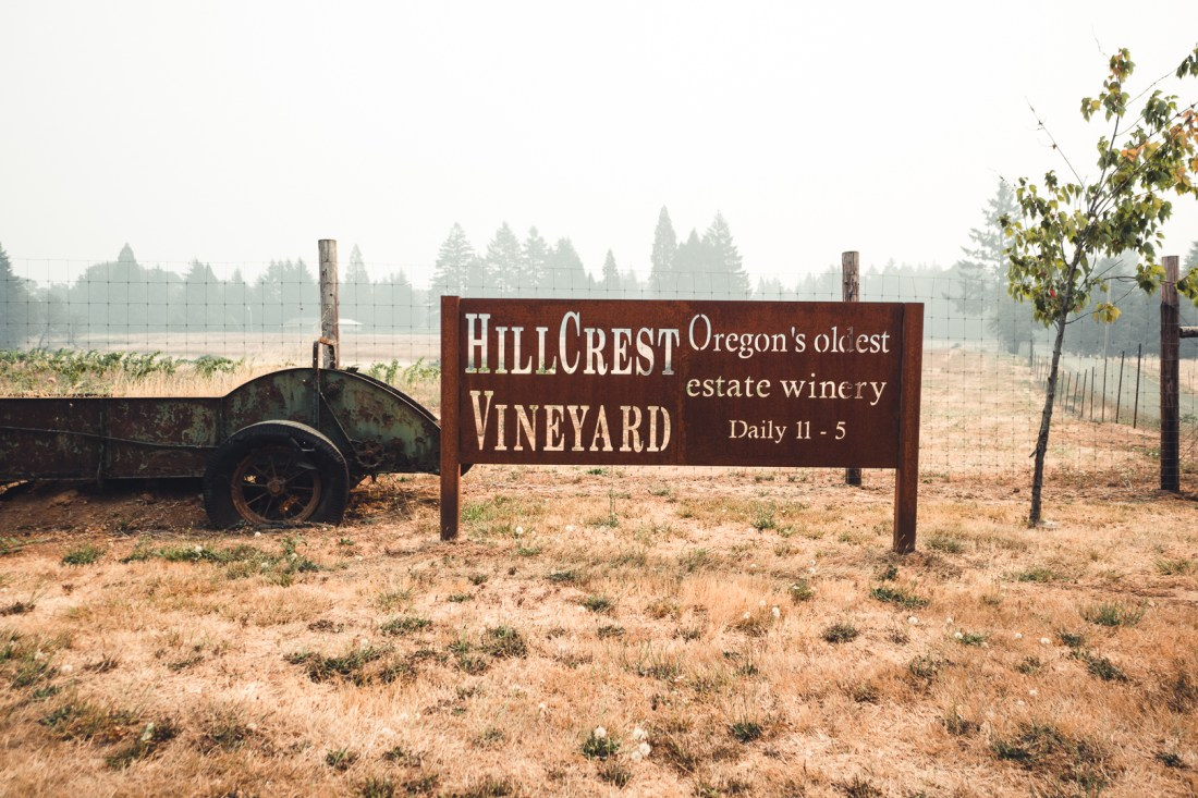 HillCrest Vineyards Free Wine Tasting with Alaska Airlines