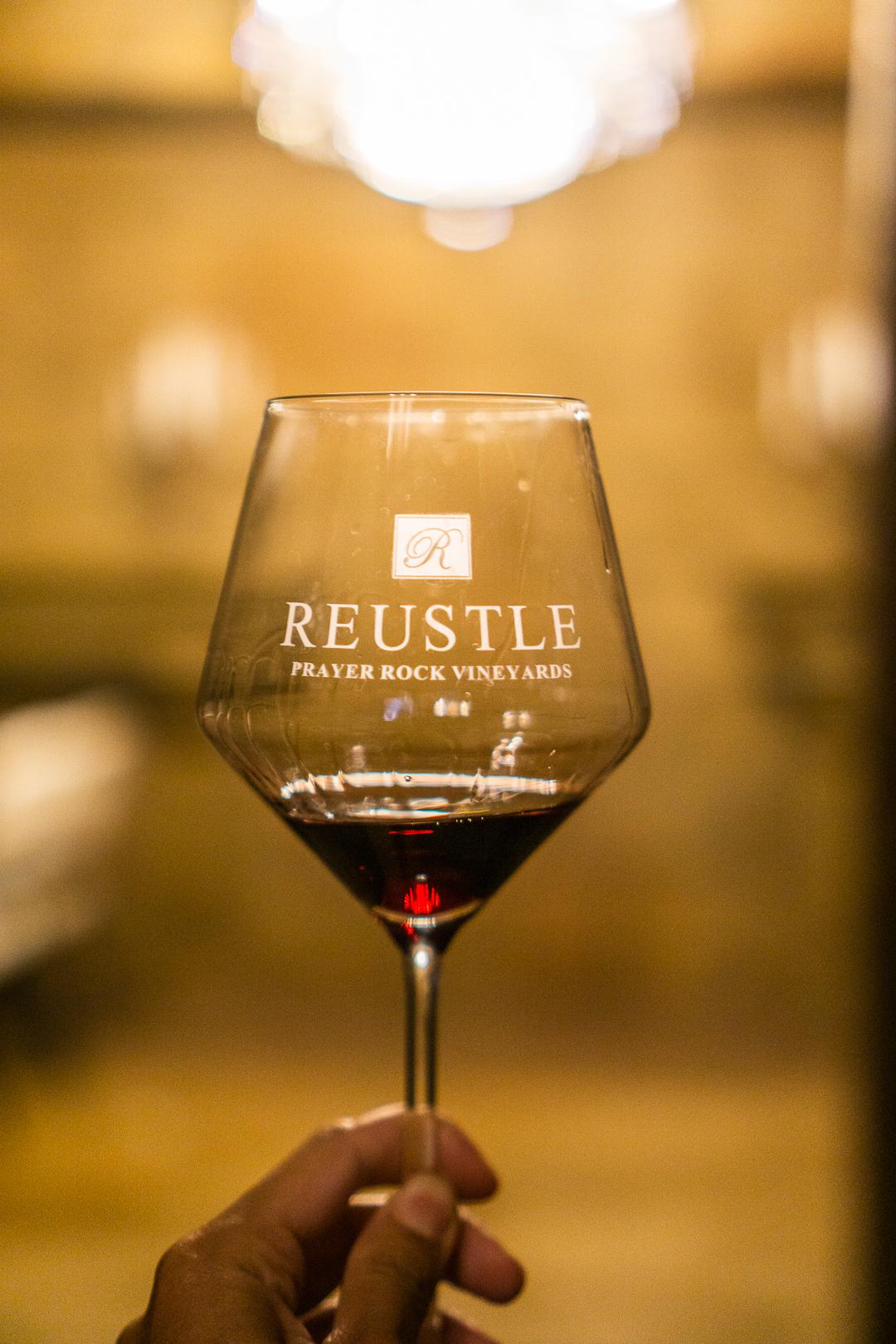 Reustle Prayer Rock Vineyards Free Wine Tasting with Alaska Airlines