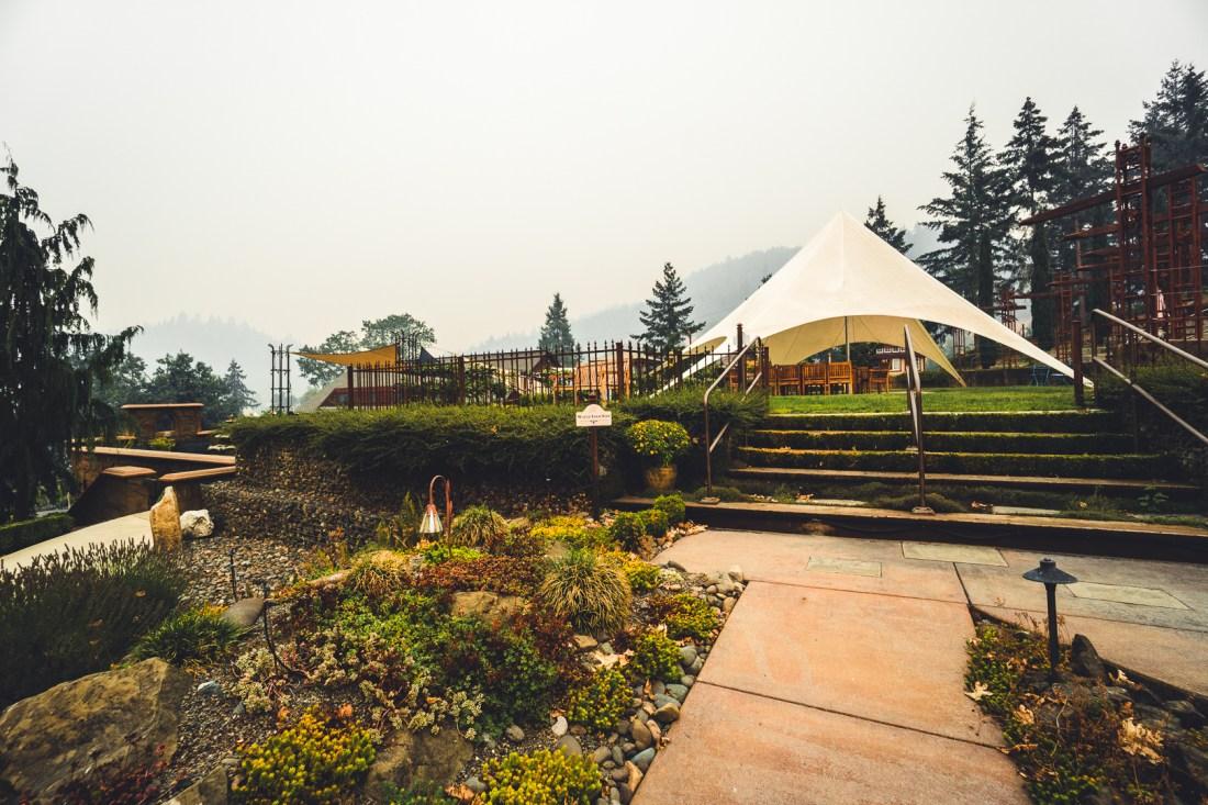 Reustle Prayer Rock Vineyards Outdoor Seating
