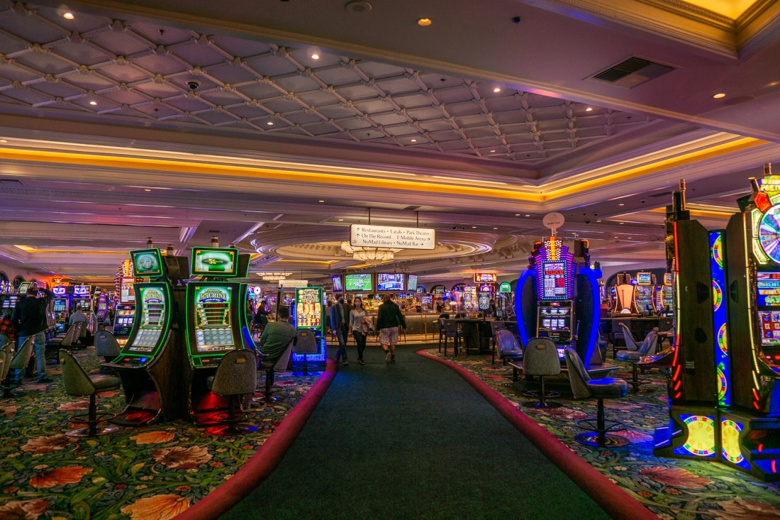 Park MGM's Casino Floor