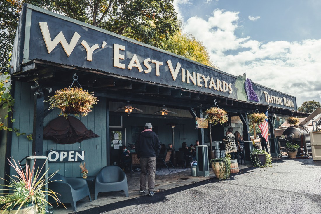 Wy' East Vineyards - Alaska Airlines Free Wine Tasting