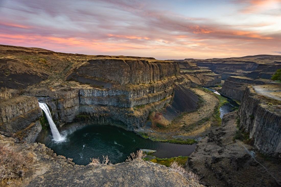 Palouse Falls Photography (Sony Wide Angle Zoom Lens)