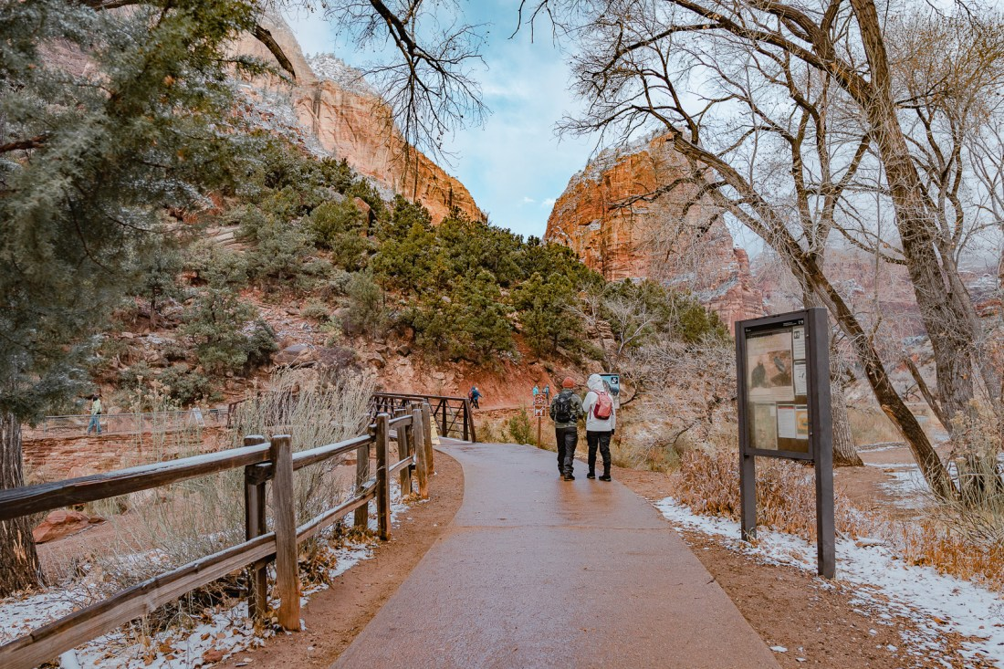 Grotto Trailhead Zion National Park