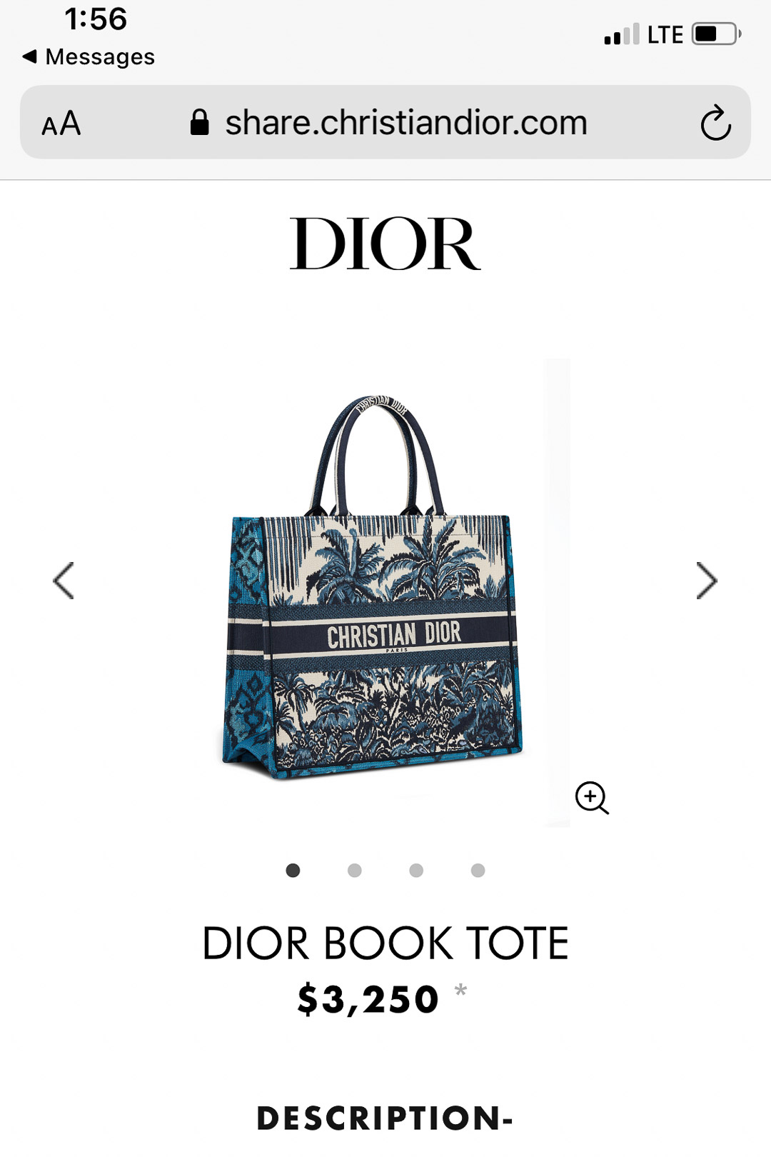 Christian Dior Hawaii Special Pricing