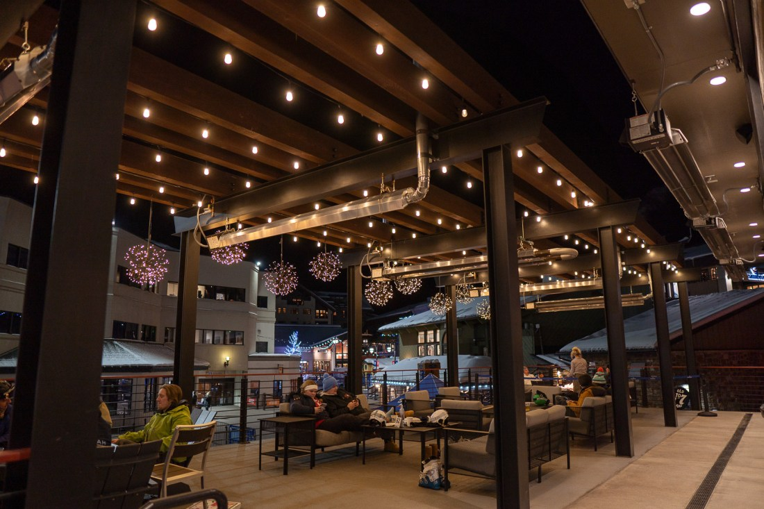 Outside Patio at Timber and Torch