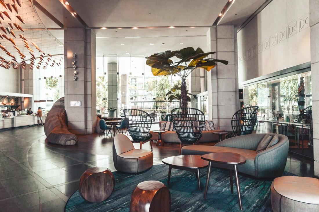 Prince Waikiki Hotel Lobby Area